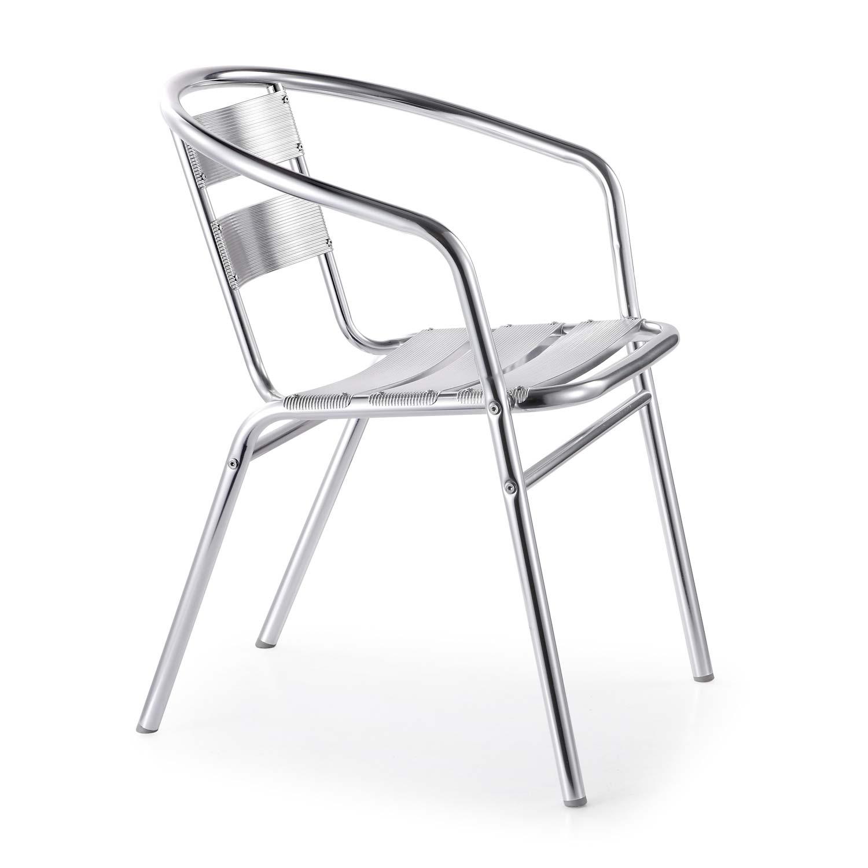 Silla jardin aluminio baja grupo meta soluciones de for Mesas y sillas de jardin baratas