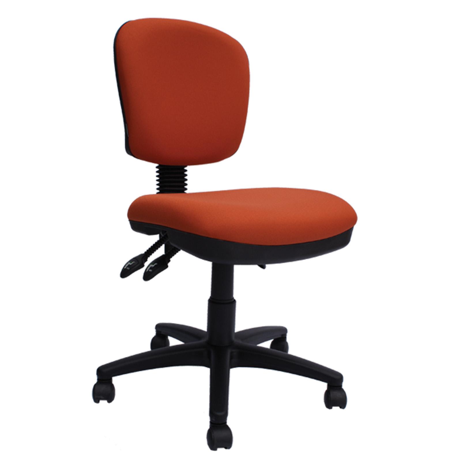 Silla secretarial 524 grupo meta soluciones de limpieza for Sillas ejecutivas para oficina