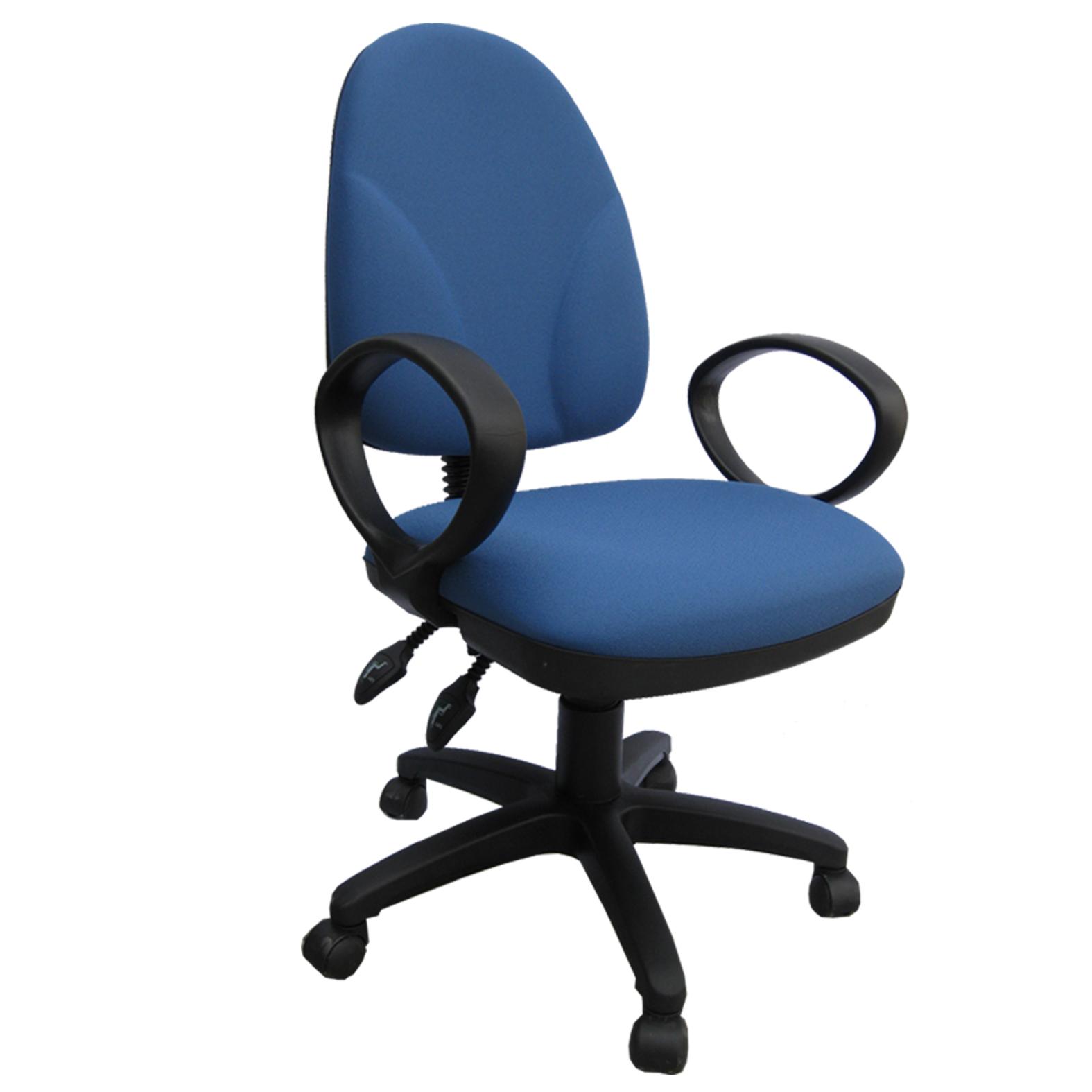 Silla secretarial 600 br 14 pl grupo meta soluciones de for Sillas operativas para oficina