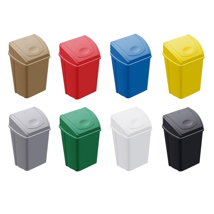 Cesto balancin lateral colores completos 42 litros grupo for Ofertas comedores completos
