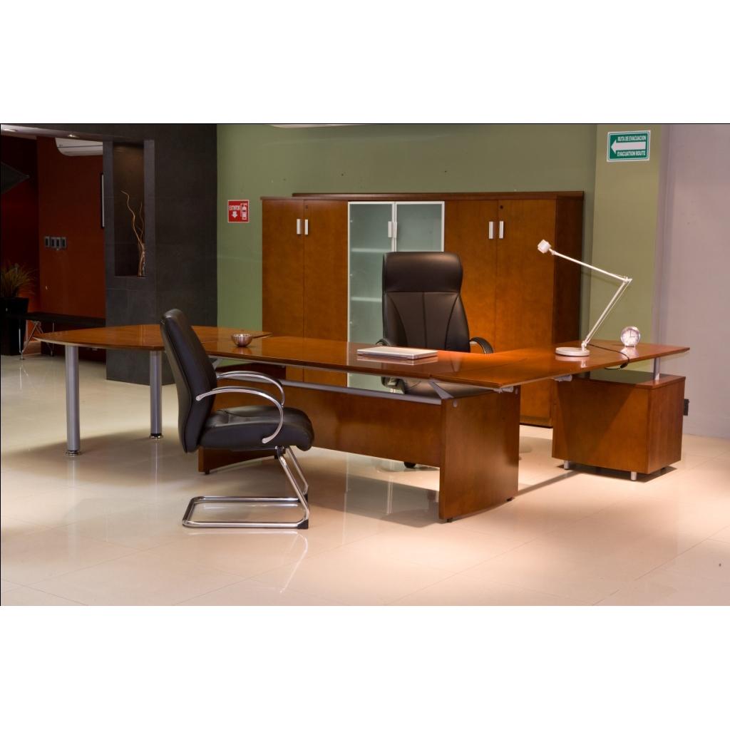 Conjunto directivo con libreros tempo grupo meta for Conjunto muebles oficina