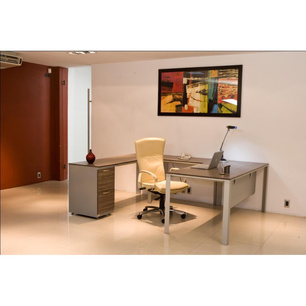 Conjunto gerencial en u altea grupo meta soluciones de for Conjunto muebles oficina