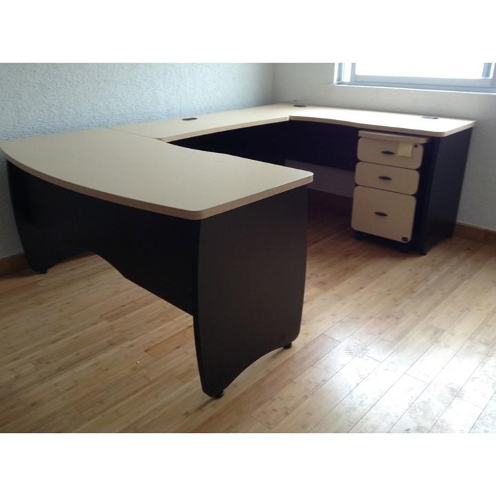 Conjunto gerencial qualium plus grupo meta soluciones for Conjunto muebles oficina