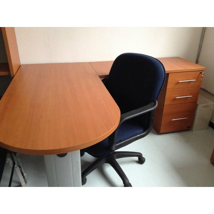 Conjunto operativo en l fratta grupo meta soluciones for Conjunto muebles oficina