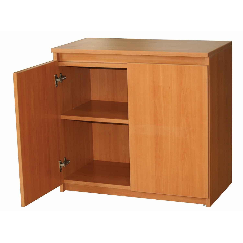 Credenza reno con puertas grupo meta soluciones de for Medidas de muebles para oficina