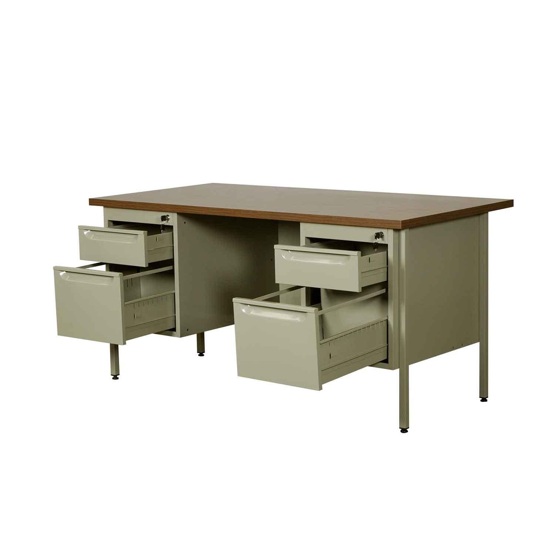 Escritorio metalico 2 pedestales em 9305 em 9306 grupo - Escritorios de oficina ...