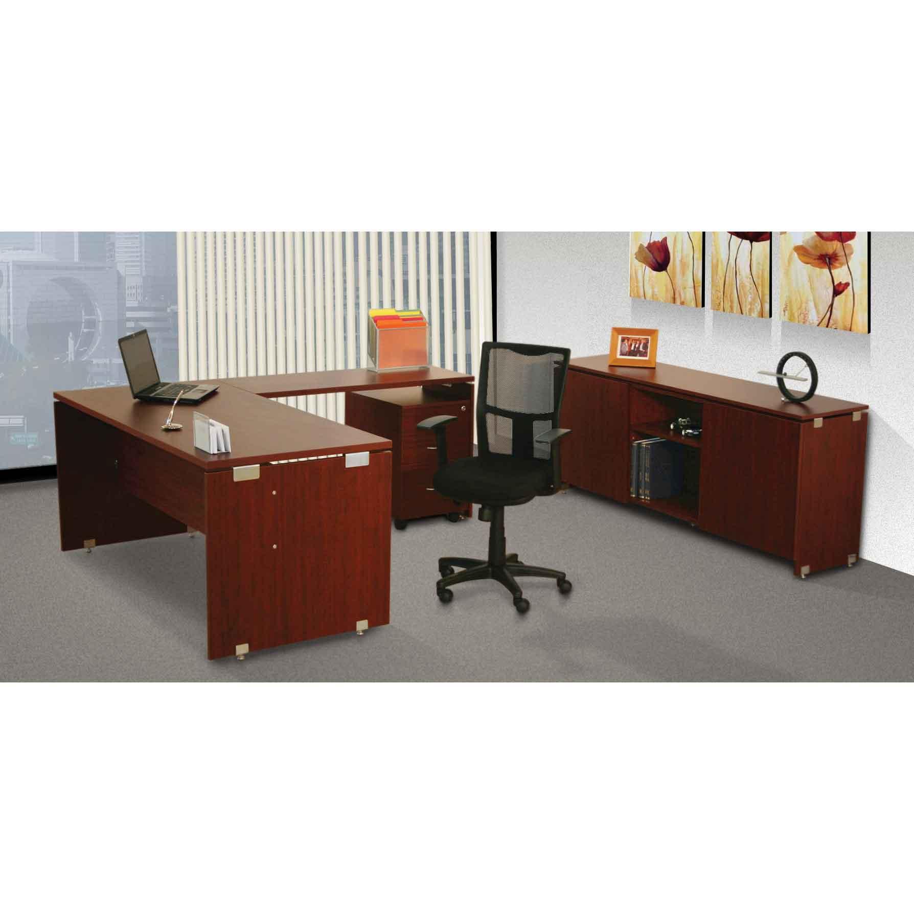 Gerencial en escuadra click grupo meta soluciones de for Medidas de muebles para oficina