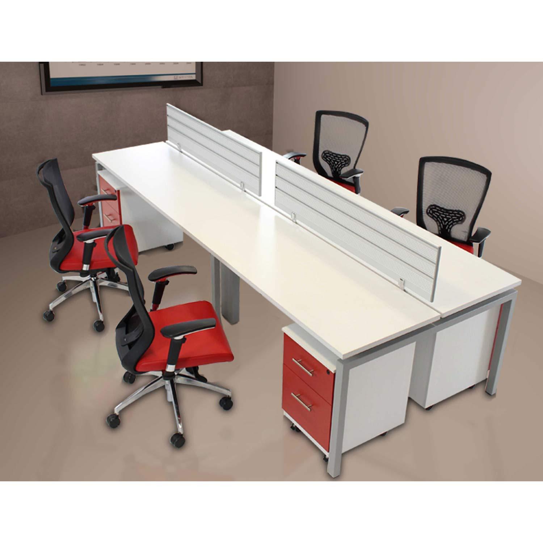 Estacion operativa ms silver bench grupo meta for Modulos para oficina