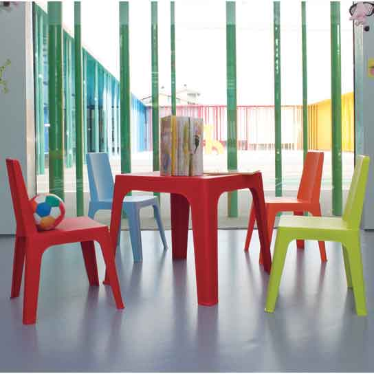 Mesa y silla infantil julieta grupo meta soluciones de for Mesas y sillas de oficina