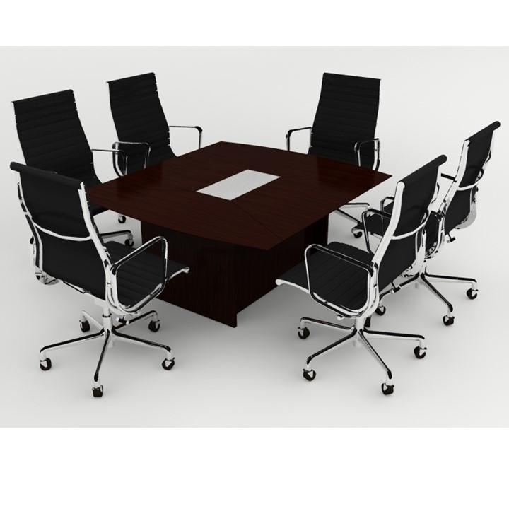 Mesa de juntas chica ancona grupo meta soluciones de for Mesas de juntas para oficina