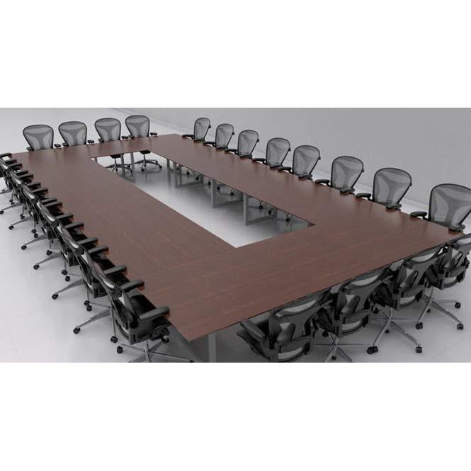 Mesa de juntas cuadrada apertum grupo meta soluciones for Mesas de juntas para oficina