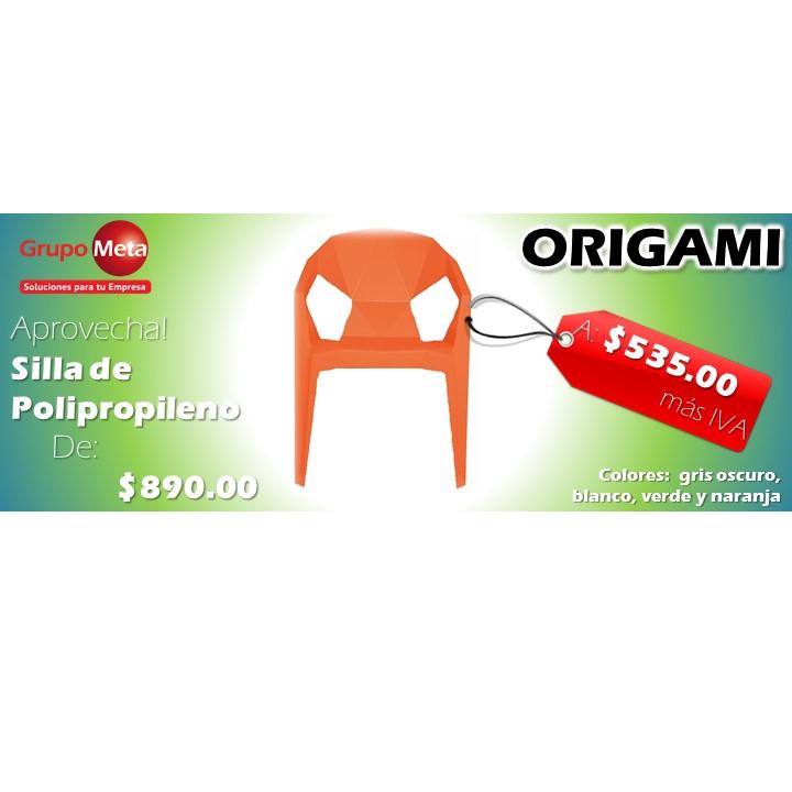 silla para comedor origami cube grupo meta soluciones