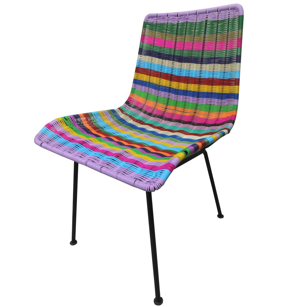 Muebles de plastico tejido 20170812140818 for Sillas comedor plastico