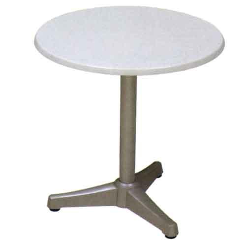 Mesa para bar sevilla 3 patas grupo meta soluciones de - Patas de aluminio para muebles ...