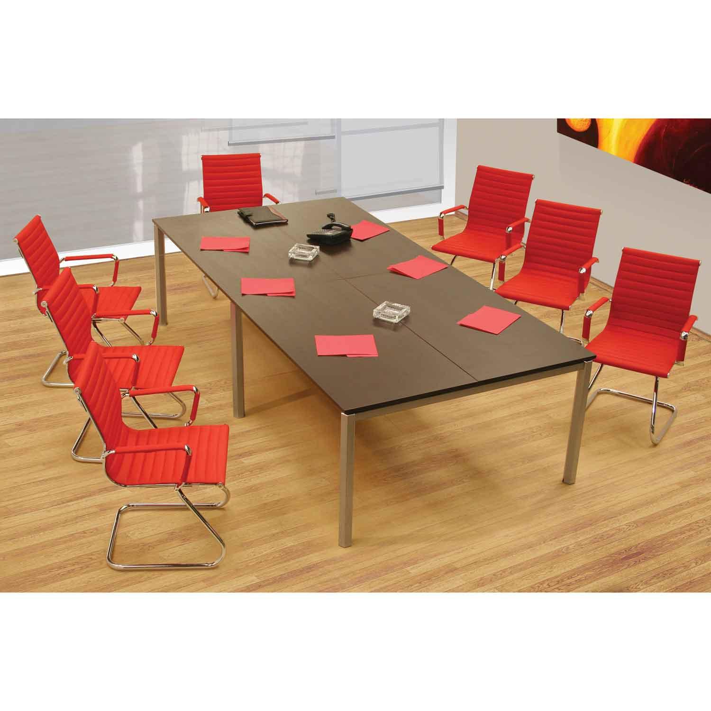 Mesa de juntas alabama grande grupo meta soluciones de for Mesas de juntas para oficina