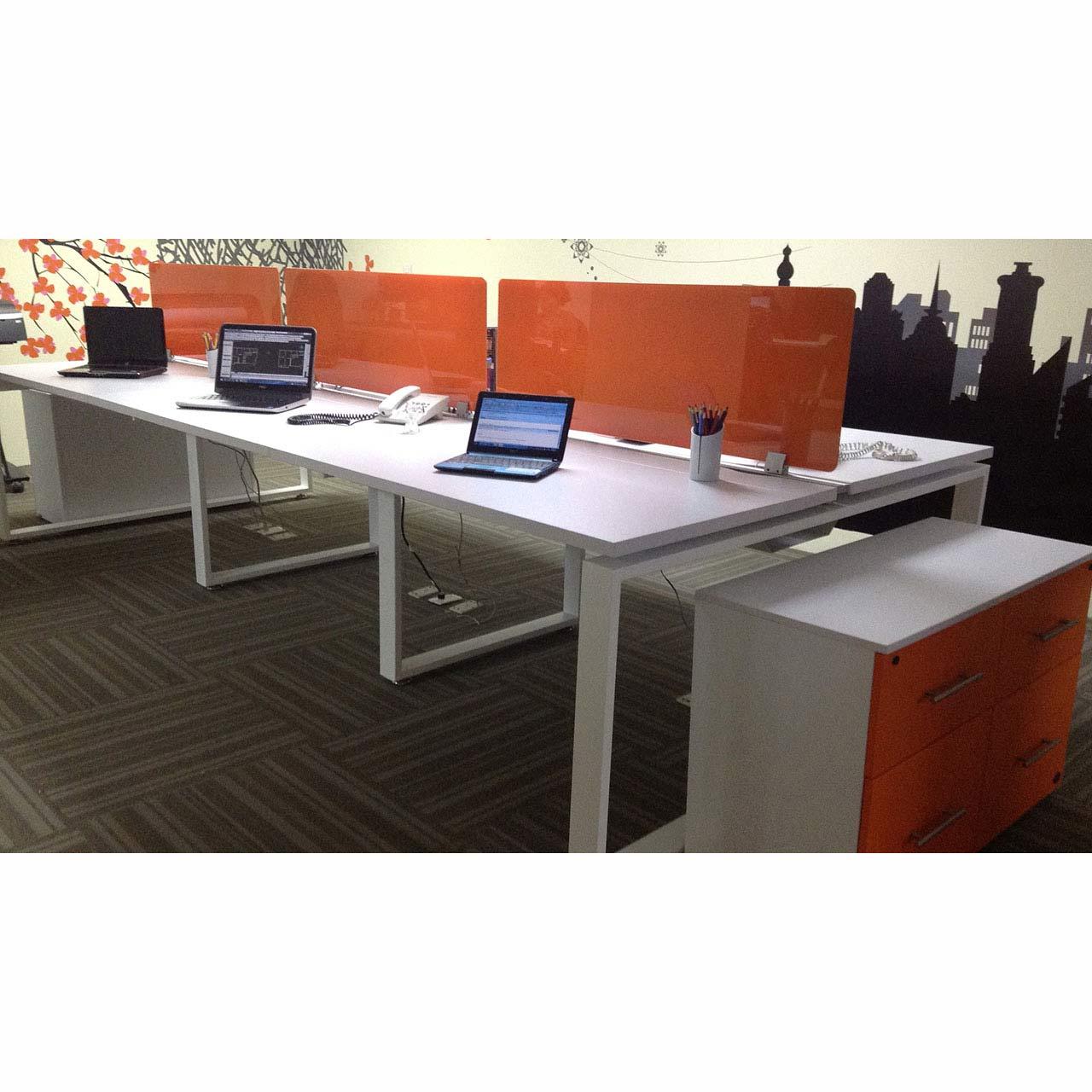 Conjunto operativo naranja dynamic ring grupo meta for Conjunto muebles oficina