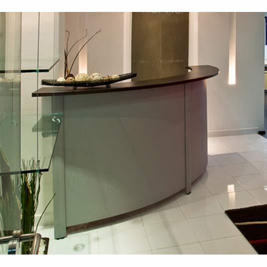 Muebles de recepci n idea creativa della casa e dell for Conjunto muebles oficina